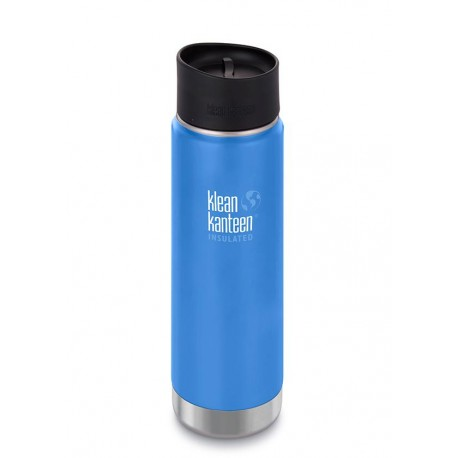 Klean Kanteen - 20oz Wide Vacuum Insulated (w/Café Cap 2.0)