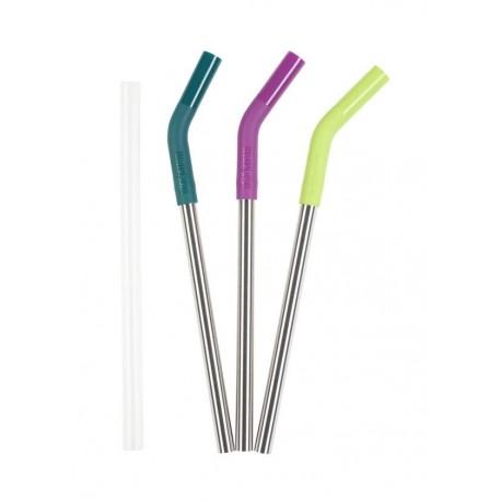 Klean Kanteen - Steel Straws 3 Pack 10mm Multicolor