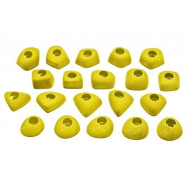Ocun - Footholds Set 1 Bolt On - Climbing Holds