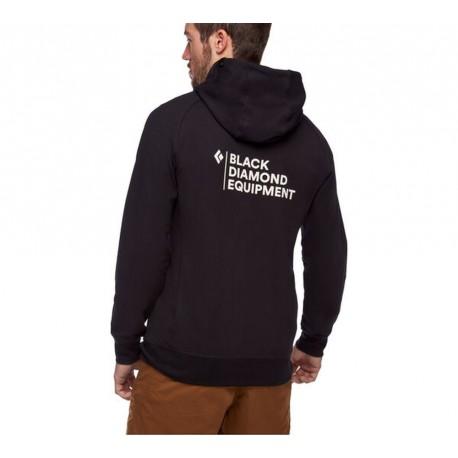 Black Diamond - M Fullzip Hoody Stacked - Climbing Hoodies