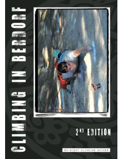 Berdorf Climbing Guide