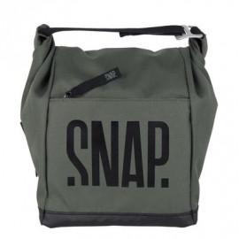 Snap - Big Chalk Bag Fleece S21 Dark Khaki
