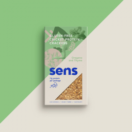 Sens - Cricket Protein Crackers Oregano & Thyme