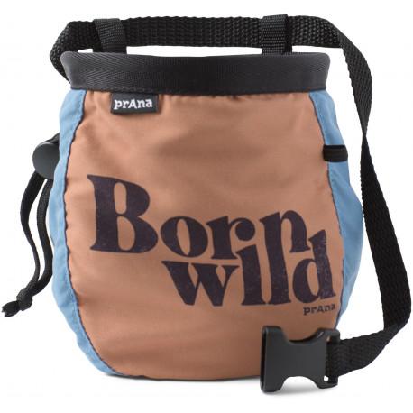 Prana - Chalkbag with Belt Born Wild - Chalkbag