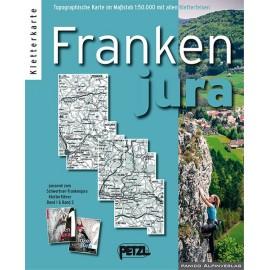 Panico Verlag - Kletter Karte Frankenjura - Climbing Book